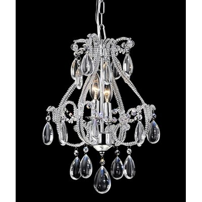 Darsie 2-Light Crystal Chandelier
