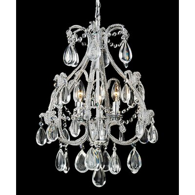 Darsie 3-Light Crystal Chandelier