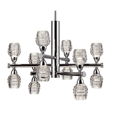 Ellen 12-Light Shaded Chandelier