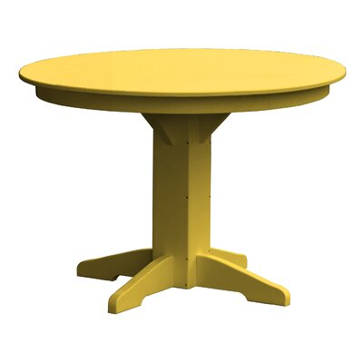 Newport Dining Table Finish: Yellow