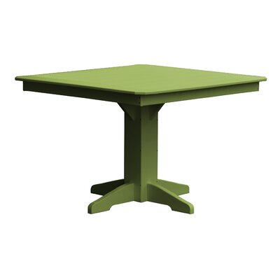 Newport Dining Table Finish: Green