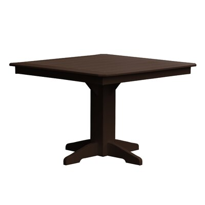 Newport Dining Table Finish: Brown