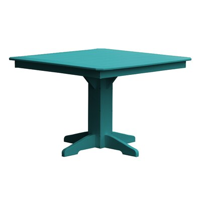Newport Dining Table Finish: Ocean Blue