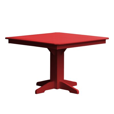 Newport Dining Table Finish: Red