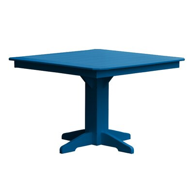 Newport Dining Table Finish: Blue