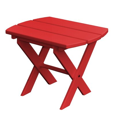 Newport SideTable Finish: Red