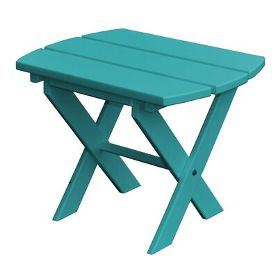 Newport SideTable Finish: Ocean Blue
