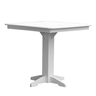 Newport Bar Table Finish: White
