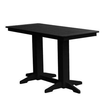 Newport Bar Table Finish: Black