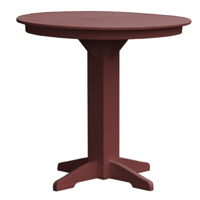 Rochester Bar Table Finish: Cherry Wood