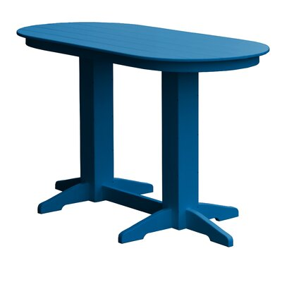 Rochester Bar Table Finish: Blue