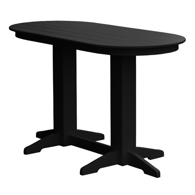 Rochester Bar Table Finish: Black