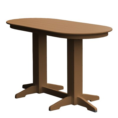 Rochester Bar Table Finish: Cedar