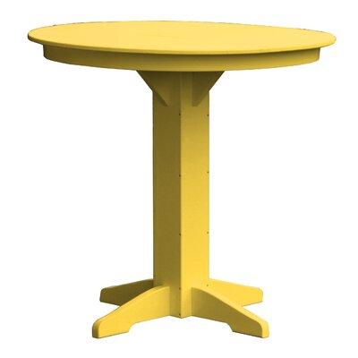 Rochester Bar Table Finish: Yellow