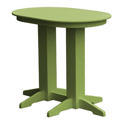 Rochester Bar Table Finish: Green