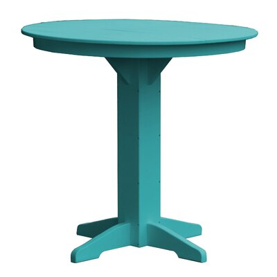 Rochester Bar Table Finish: Ocean Blue