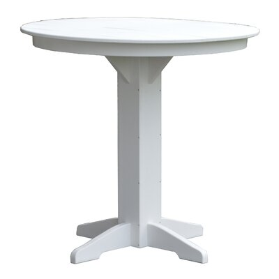 Rochester Bar Table Finish: White