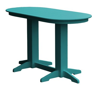 Rochester Bar Table Finish: Ocean Blue