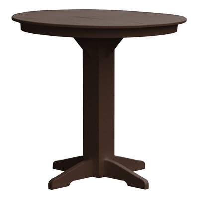 Rochester Bar Table Finish: Brown