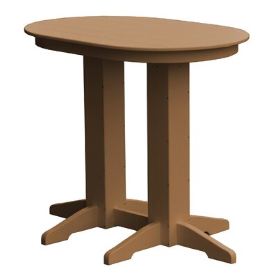 Rochester Bar Table Finish: Cedar
