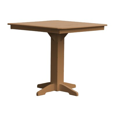 Newport Bar Table Finish: Cedar