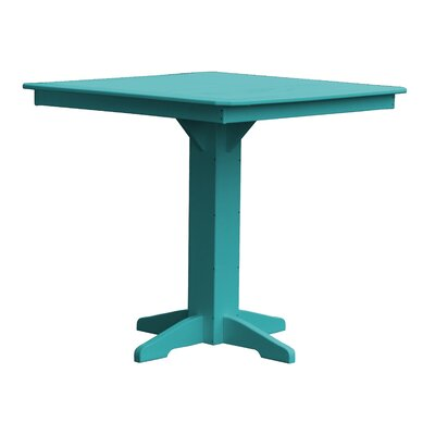 Newport Bar Table Finish: Ocean Blue