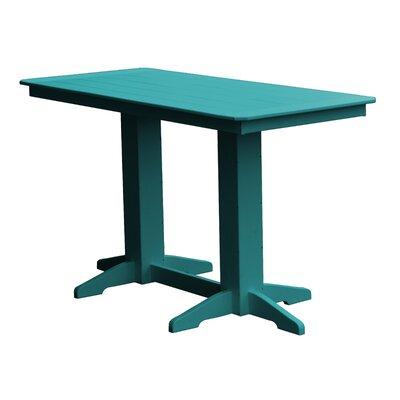 Newport Bar Table Finish: Ocean Blue