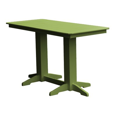 Newport Bar Table Finish: Green