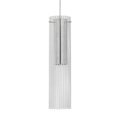 Lombard Striped Glass 1-Light Pendant