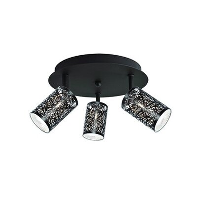 Carreno 3-Light Semi Flush Mount