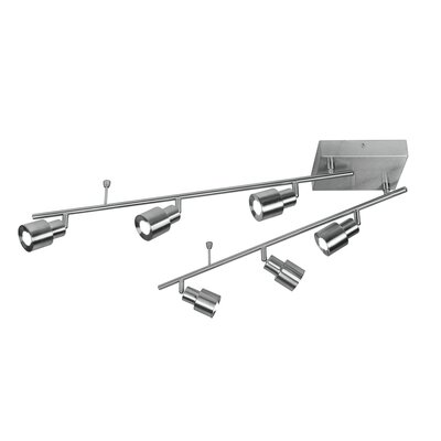 6-Light LED Full Track Lighting Kit