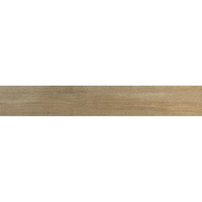 Urban 7 x 46.5 Porcelain Wood Tile in Ecru