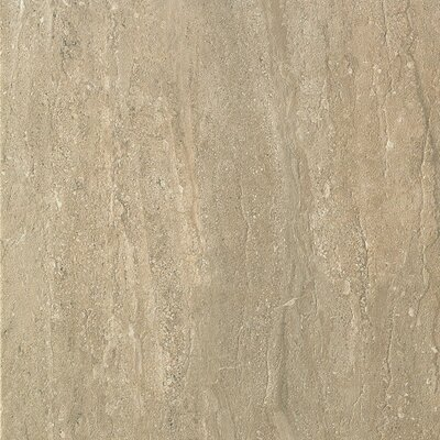 Travertini 16.75 x 16.75 Porcelain Field Tile in Matte Walnut