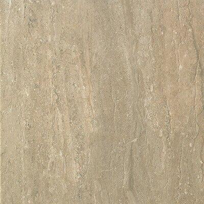 Travertini 16.75 x 16.75 Porcelain Field Tile in Matte Walnut