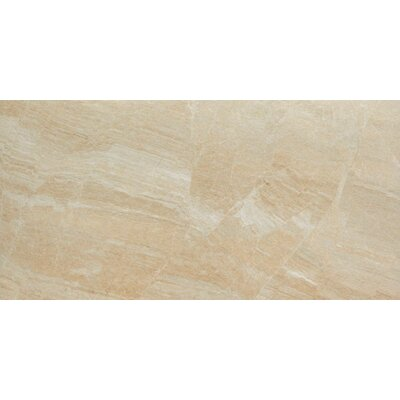 Anthology 12 x 24 Porcelain Field Tile in Matte Beige