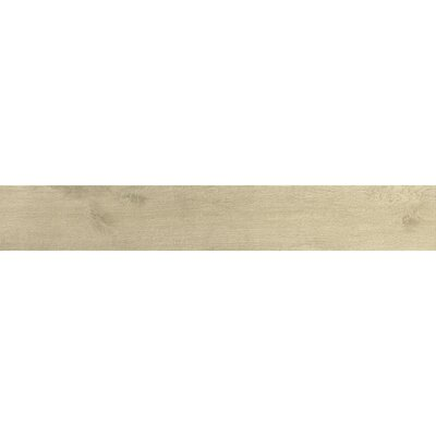 Urban 6 x 36 Porcelain Wood Tile in Beige