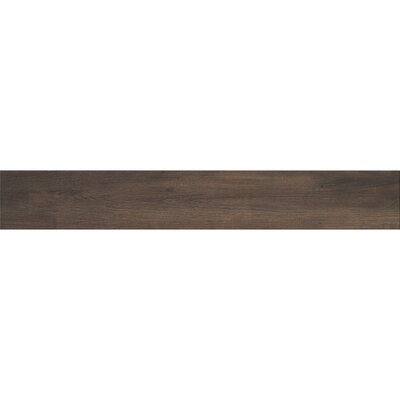 Urban 6 x 36 Porcelain Wood Tile in Brown