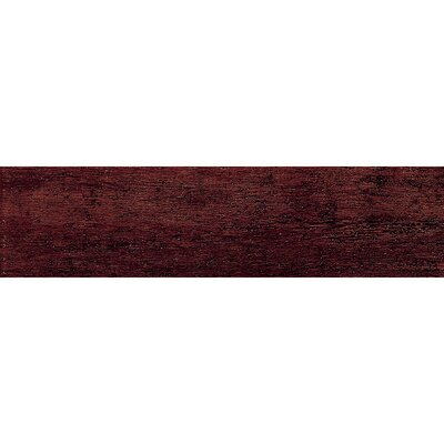 Barrique 6 x 24 Porcelain Wood Tile in Mahogany