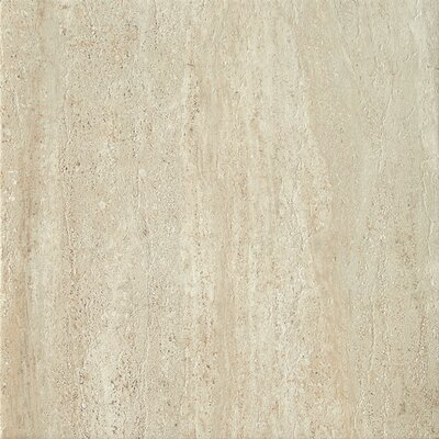 Travertini 16.75 x 16.75 Porcelain Field Tile in Matte Beige