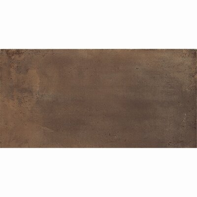 Genesis 12 x 24 Porcelain Field Tile in Moka