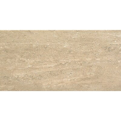 Travertini 12 x 24 Porcelain Field Tile in Matte Walnut