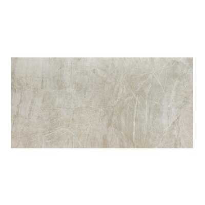 Anthology 12 x 24 Porcelain Field Tile in Polished Grey