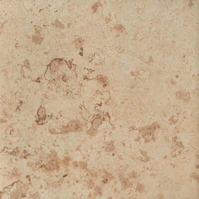 Jura 16.75 x 16.75 Porcelain Field Tile in Gold