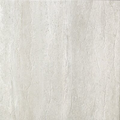 Travertini 16.75 x 16.75 Porcelain Field Tile in Matte Grey