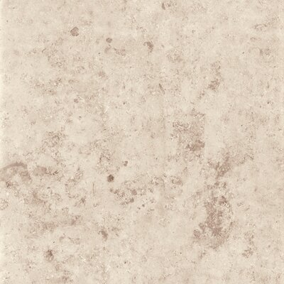 Jura 16.75 x 16.75 Porcelain Metal Tile in Ivory