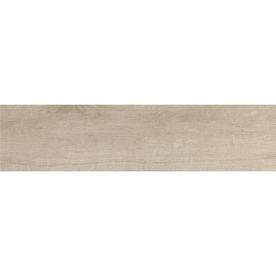 Urban 6 x 24 Porcelain Wood Tile in Sand