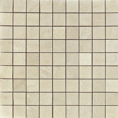 Genesis Porcelain Mosaic Tile in Shell