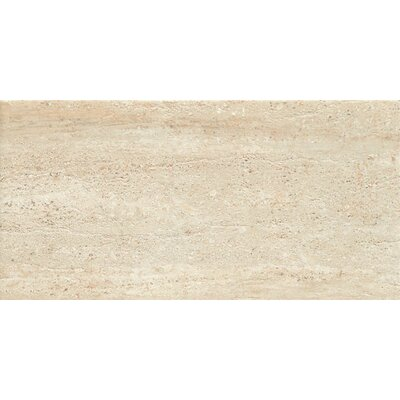 Travertini 18 x 36 Porcelain Field Tile in Beige