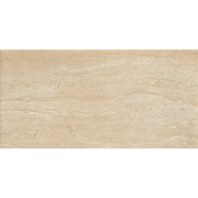 Travertini 18 x 36 Porcelain Field Tile in Cream