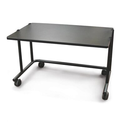 Anthrocart 60 W x 30 D Training Table Color: Black Product Picture 211